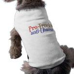 Favorable-Camiones Anti-Obama Camisetas De Mascota