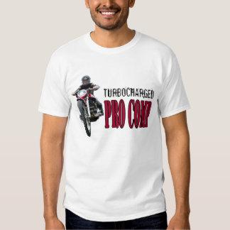 FAVORABLE camiseta Turbocharged del dragbike de lo Playeras