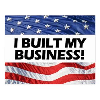 Favorable-Capitalismo, construí mi negocio, Postal