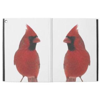 Favorable caso del iPad cardinal rojo de los