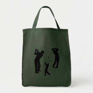 Favorable de golf bolsa lienzo