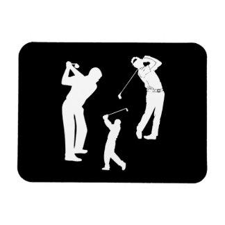 Favorable de golf imanes flexibles