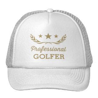 Favorable diseño gráfico del golfista el | gorro de camionero