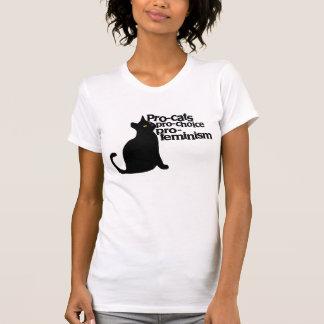 favorable-feminismo proabortista de los tee shirts