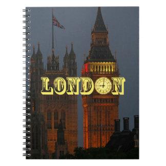Favorable foto del atontamiento Londres Libro De Apuntes Con Espiral
