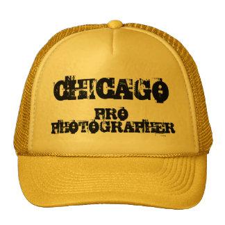 FAVORABLE gorra del FOTÓGRAFO de CHICAGO