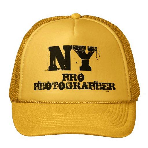 FAVORABLE gorra del FOTÓGRAFO de NY