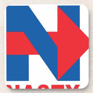 """Favorable Hillary Clinton """"estoy con desagradable Posavasos De Bebida"""