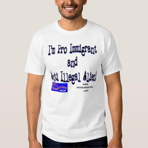 Favorable inmigrante/inmigrante ilegal anti polera