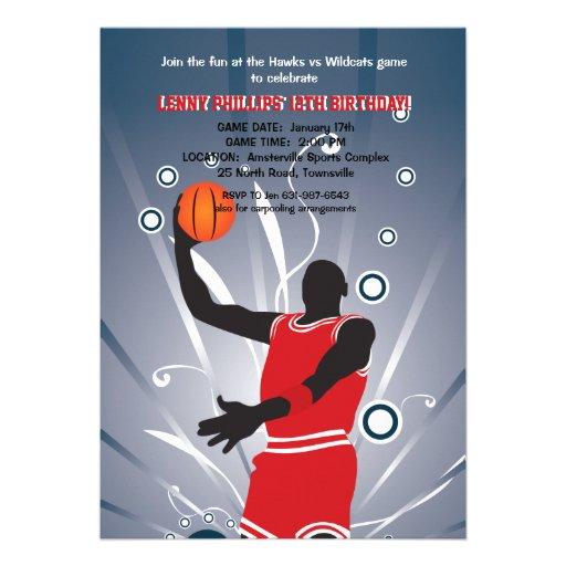 Favorable invitación del baloncesto