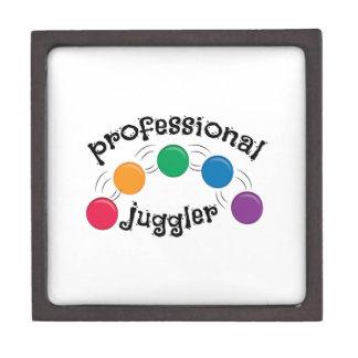 Favorable juglar caja de joyas de calidad