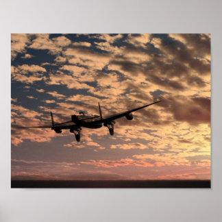 """""""Favorable libertate"""" (Royal Air Force de 106 escu Póster"""