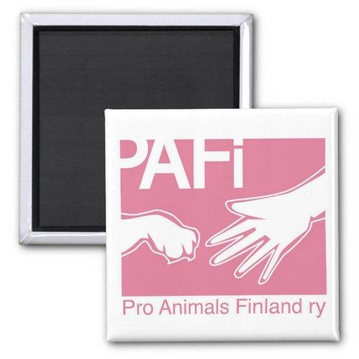Favorable logotipo de Finlandia de los animales Imán Para Frigorífico