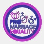 Favorable matrimonio homosexual etiquetas