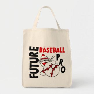 Favorable mono del calcetín del béisbol futuro bolsa