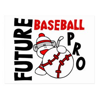Favorable mono del calcetín del béisbol futuro postales