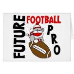Favorable mono del calcetín del fútbol futuro tarjetas