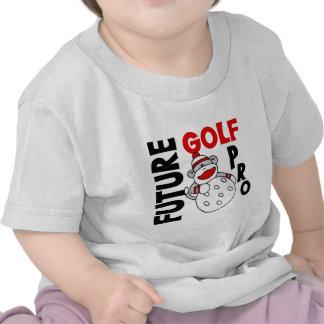 Favorable mono futuro del calcetín de golf camiseta
