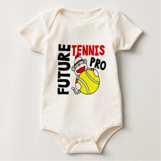 Favorable mono futuro del calcetín de tenis body para bebé