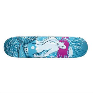 Favorable monopatín de la sirena patines