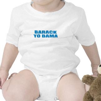 Favorable-Obama - BARACK YO BAMA Traje De Bebé