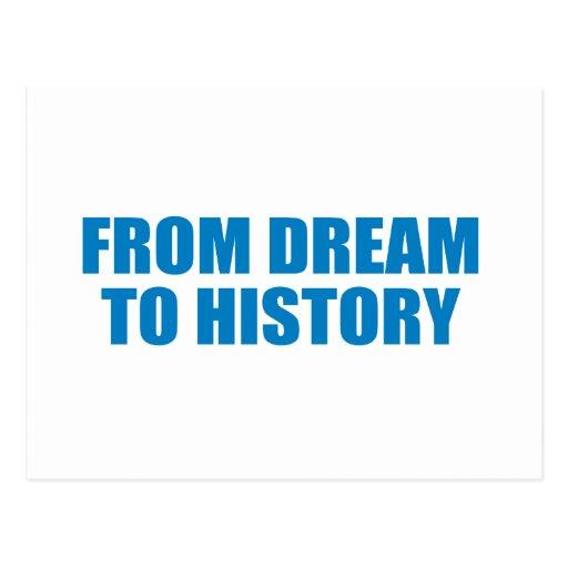 Favorable-Obama - del SUEÑO a la HISTORIA Postal