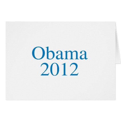 Favorable-Obama - OBAMA 2012 - Tarjeta De Felicitación