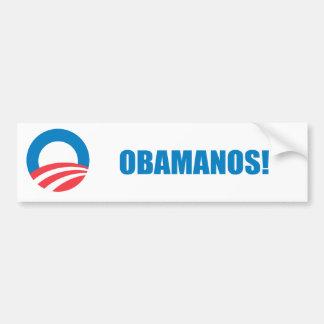 Favorable-Obama - OBAMANOS (2) Etiqueta De Parachoque