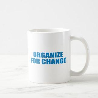 Favorable-Obama - ORGANICE PARA el CAMBIO Taza De Café