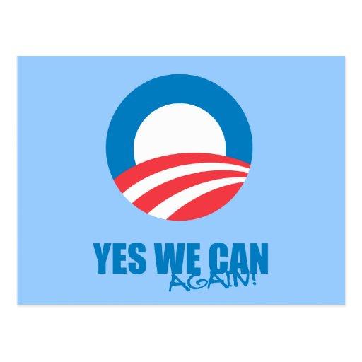 Favorable-Obama - PODEMOS SÍ OTRA VEZ Postales
