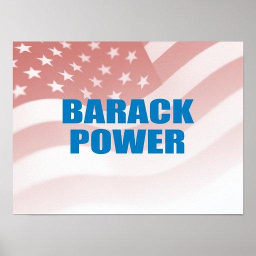Favorable-Obama - PODER de BARACK Póster