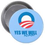 Favorable-Obama - SÍ OTRA VEZ Pins