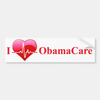 Favorable-Obamacare mercancía Pegatina Para Auto