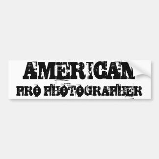 FAVORABLE pegatina para el parachoques AMERICANA d Etiqueta De Parachoque