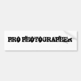 FAVORABLE pegatina para el parachoques del FOTÓGRA Etiqueta De Parachoque