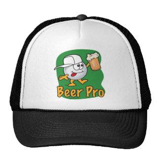 Favorable pelota de golf del dibujo animado de la gorras