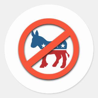 Favorable-Republicano/Anti-Demócrata Pegatinas Redondas