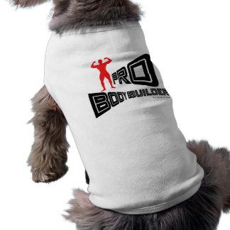 Favorable ropa del perro del Bodybuilder Playera Sin Mangas Para Perro