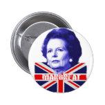 Favorable señora Thatcher Pins