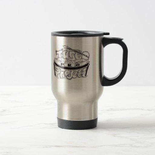 Favorable taza de café del viaje de Turbo