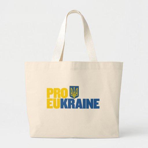 Favorable UE favorable Ucrania Bolsa Lienzo