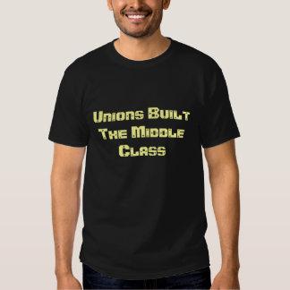 Favorable unión camisas