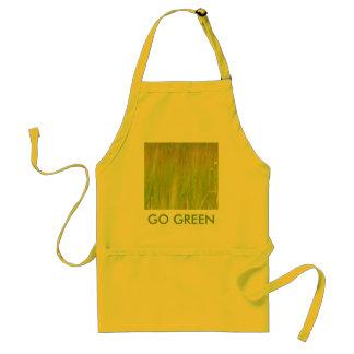 Favorable verde delantal