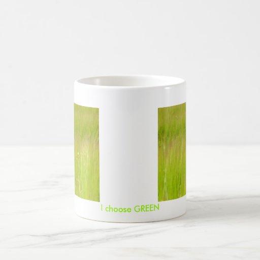 Favorable verde taza