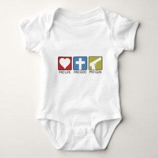 Favorable vida, favorable dios, favorable arma body para bebé