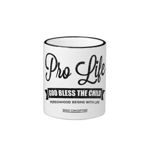 Favorable vida taza de café