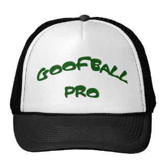 FAVORABLES casquillos verdes del texto del GOOFBAL Gorro