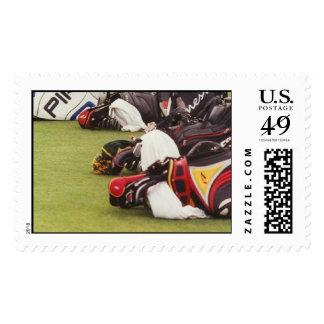 Favorables sellos de la bolsa de golf