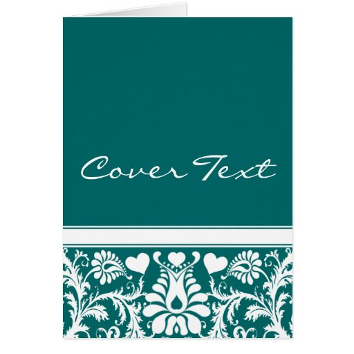 Favores a juego del boda floral del vintage del tarjeta de felicitación