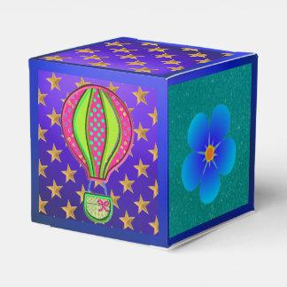 Favores altísimos de la caja de regalo del fiesta cajas para regalos